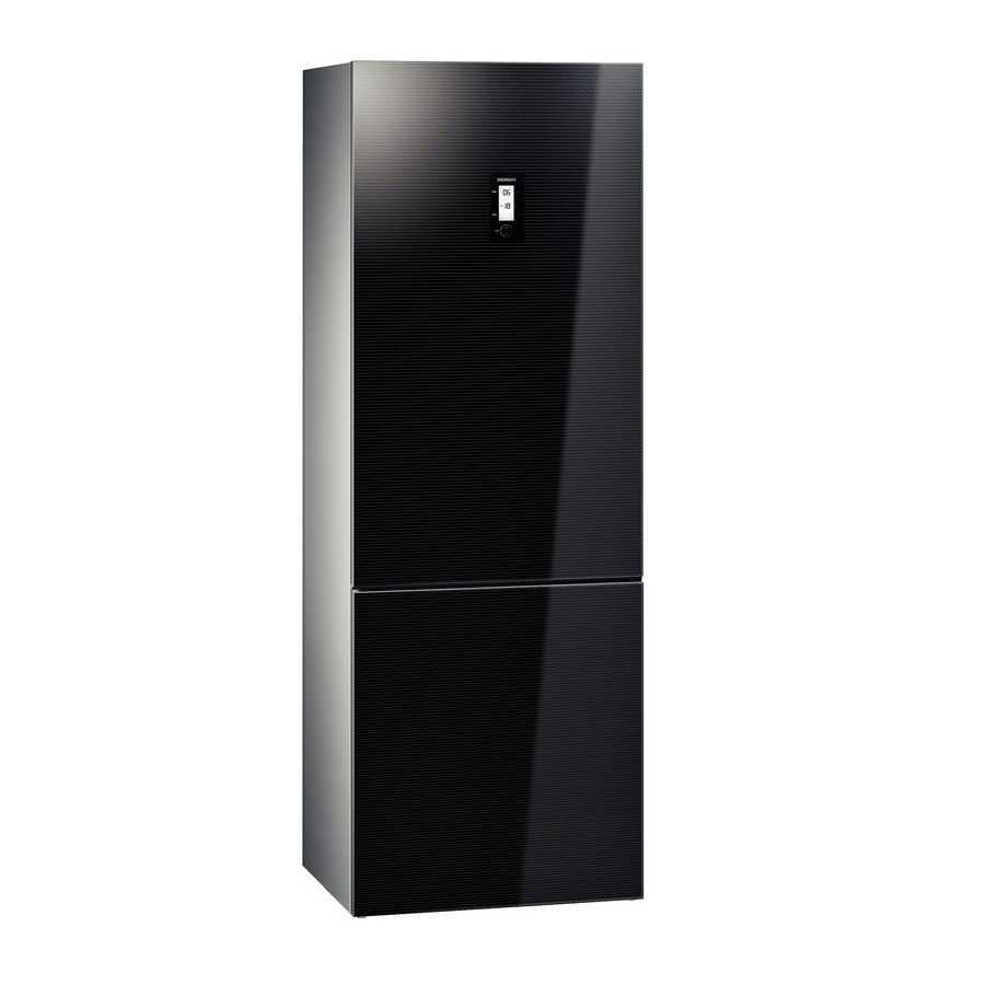 Бытовой холодильник Siemens kg49nsb21r