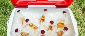 Сумка холодильник держит холод